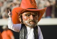 Pistol Pete courtesy of Oklahoma State Athletics