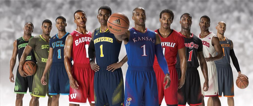 Adidas unveils new March Madness uniforms - College Basketball ...