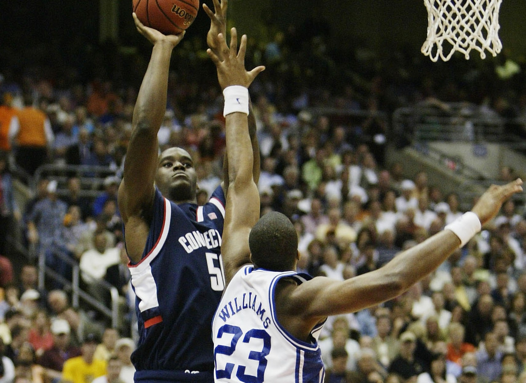 Throwback Thursday: UConn's comeback against Duke in the 2004 Final Four  (VIDEO) - College Basketball | NBC Sports