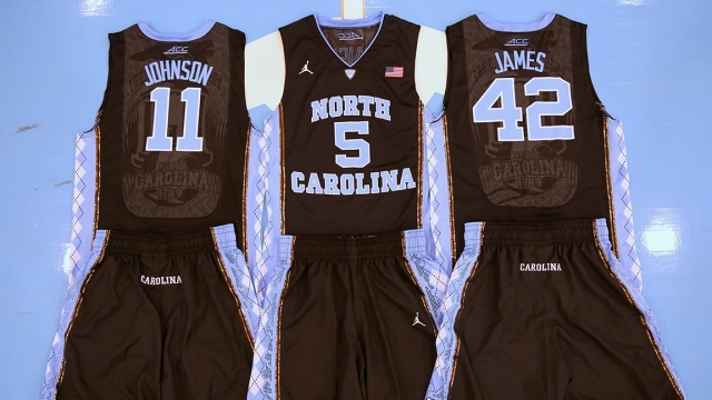 jerseys UCLA December vs. black wear to Carolina 19  North