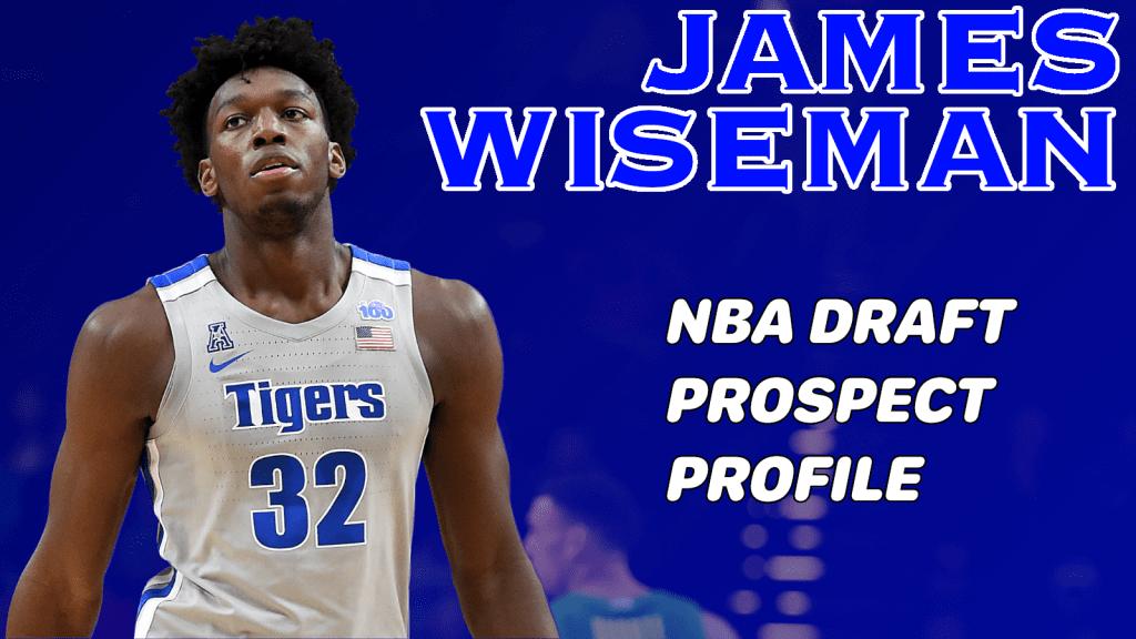 JAMES WISEMAN 2020 NBA DRAFT