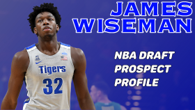 JAMES WISEMAN 2020 NBA DRAFT