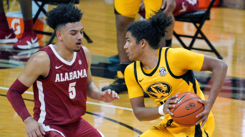 Alex Reese Alabama Crimson Tide Basketball Jersey - Cardinal